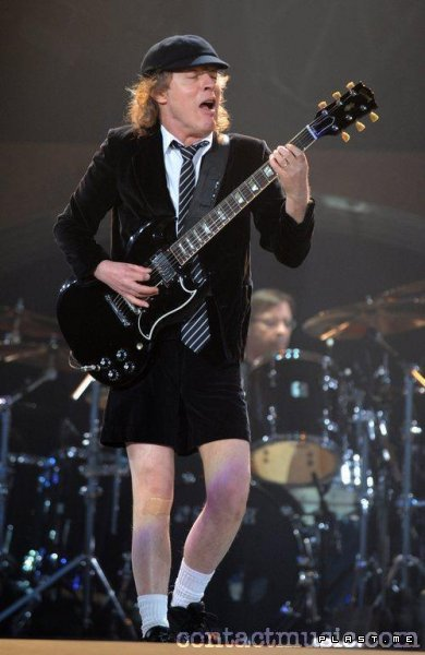 "Angus Young  ""Stiff Upper Lip"""