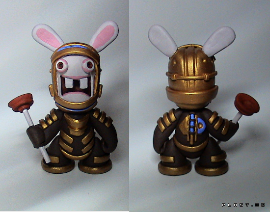 dead space + raving rabbits