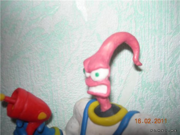 Червяк Джим (Earthworm Jim)