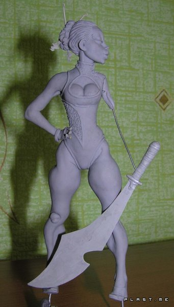 Первая проба Super Sculpey Firm