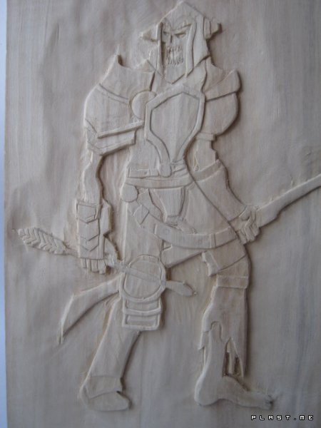MY CARVING (undead archer)