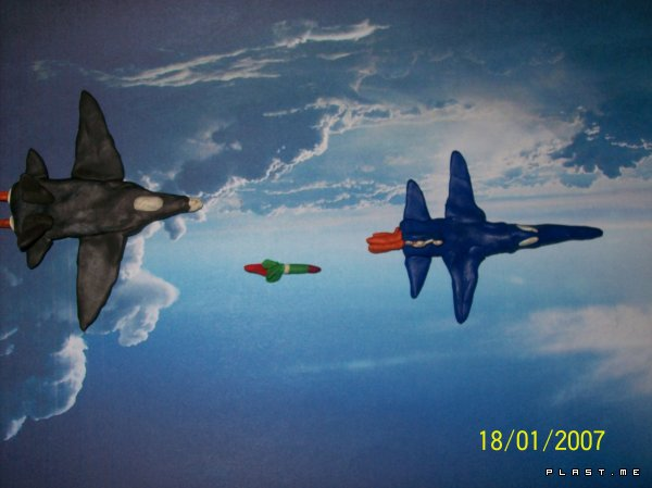 Дуель  F-22 Raptor VS X-15 NASA