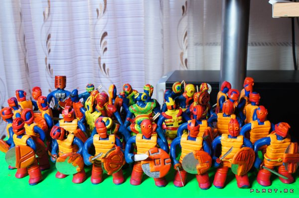 THE PLASTICINE WORLD