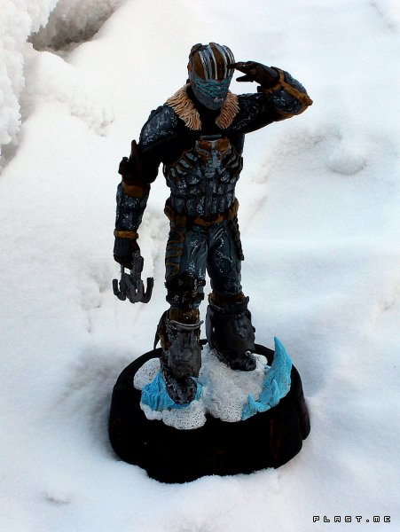 Dead space 3 - Isaac Clarke statue fan art