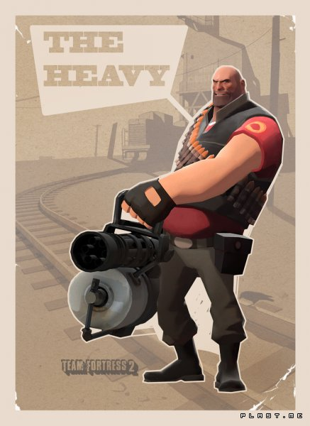 Team Fortress 2 The Heavy