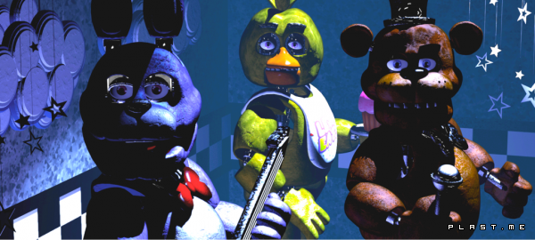 five nights at freddy's фигурки
